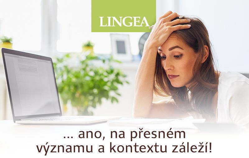 elektronické slovníky Lingea